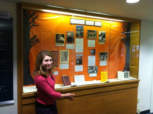 Haunted Saint Rose Archival Display